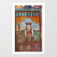 Lo Manthang Door - 1 of 2 Art Print