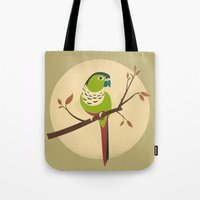 Green Cheek Conure Tote Bag