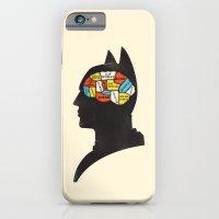 Bat Phrenology iPhone 6 Slim Case