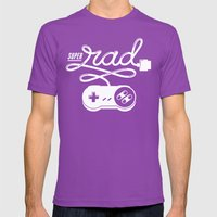 Super Rad Mens Fitted Tee Ultraviolet SMALL
