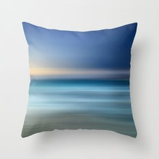 Mermaid Water I Throw Pillow
