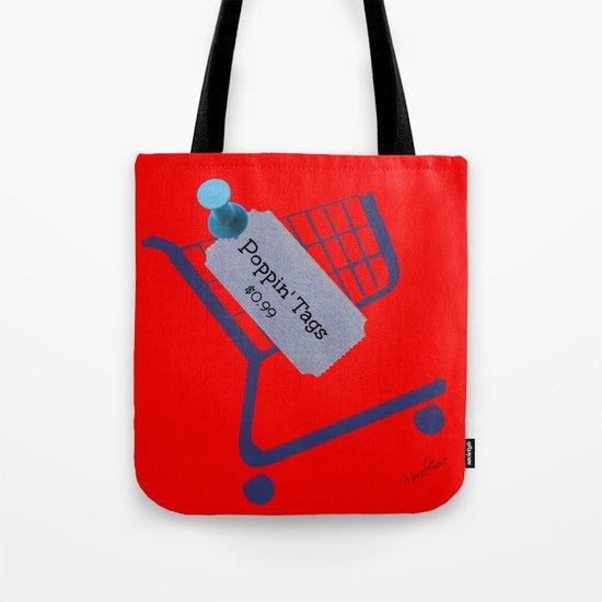 Poppin Tags-Thrift Shop Song-Macklemore Tote Bag