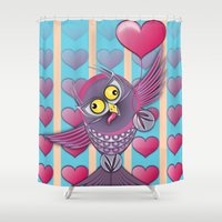 We All Need Love Shower Curtain