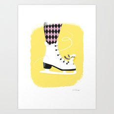 My heart will go on Art Print