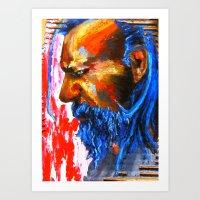 Le Sphinx des contre-allées Art Print