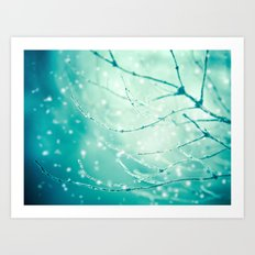 Sparkle And Glow Art Print