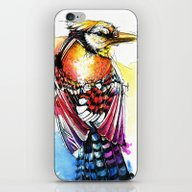 Crazy Jay iPhone & iPod Skin