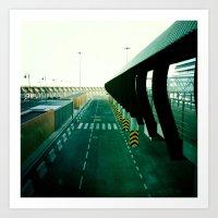 Roadway Art Print
