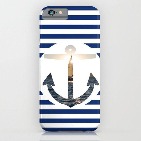 Nautical Anchor iPhone & iPod Case