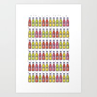 Soda Pop! Art Print