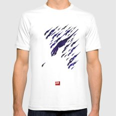Mass Effect 3 (w/quote) Mens Fitted Tee White SMALL