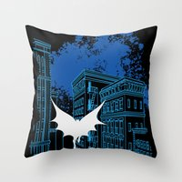 Damm You Copyright Throw Pillow