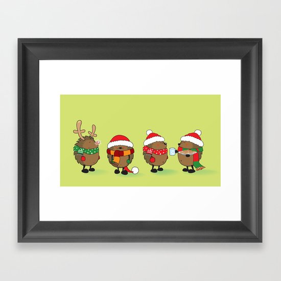 Ready for Christmas Framed Art Print by Mangulica