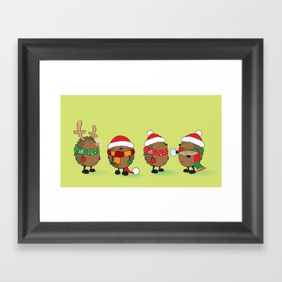 Ready For Christmas Framed Art Print By Mangulica Society6