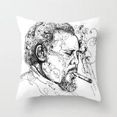 Mingus Throw Pillow