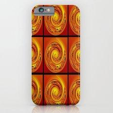 Abstract Collage Orange Art. Slim Case iPhone 6s