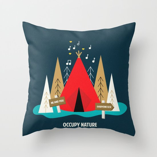 We are the 100%  Throw Pillow