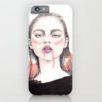 iPhone & iPod Case featuring It's A Love/Hate Relationship With the Color Pink by Meegan Barnes