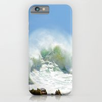 iPhone & iPod Case featuring Christmas Wave by CrismanArt