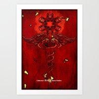 Caduceus 069 Art Print
