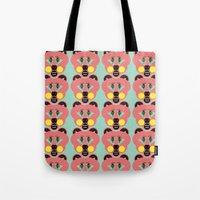 Grizzly Bear Necessities Tote Bag