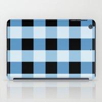 Blue Squares iPad Case