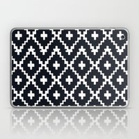 Southwest Diamonds _ Bla… Laptop & iPad Skin