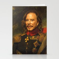 Mickey Rourke - Replacef… Stationery Cards