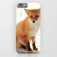 Hokkaido Fox iPhone 6 Slim Case