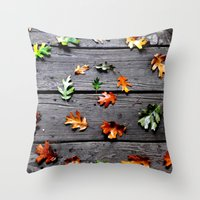 We All Fall Down Throw Pillow