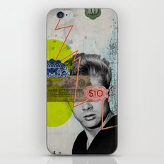 Public Figures - James Dean iPhone & iPod Skin
