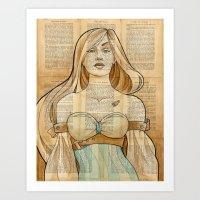 The Iron Woman 8 Art Print