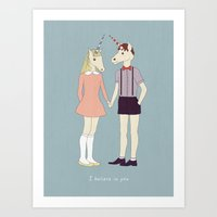 Our Love Is Unique, We A… Art Print