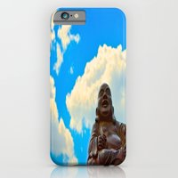 Happy Buddha on a Beautiful Day iPhone 6 Slim Case