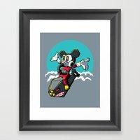 Dr. Strangemouse Framed Art Print