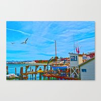 San Francisco Waterfront Canvas Print