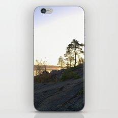 Perfect silence iPhone & iPod Skin