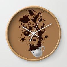 Need more Coffee Wall Clock