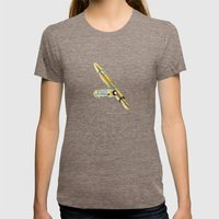 Future Pen Womens Fitted Tee Tri-Coffee SMALL