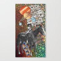Cowboy and His Guns Canvas Print