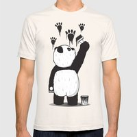 Pandalism Mens Fitted Tee Natural SMALL