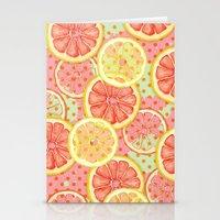 Fresh & Fruity Stationery Cards