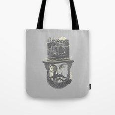 Old man hatten Tote Bag