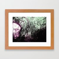 Stain Abstract 1 Framed Art Print