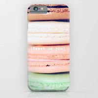 iPhone & iPod Case featuring {Sweet on you} by Lisa Argyropoulos