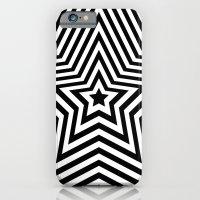 Stars - Black & White Ve… iPhone 6 Slim Case