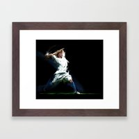 Let's Play Soccer Framed Art Print