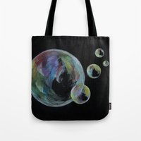 CRAYON LOVE  - Soap Bulbs Tote Bag