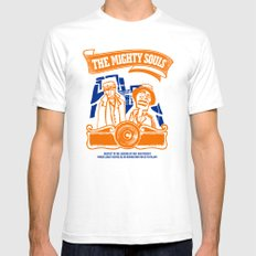 The Mighty Souls: Hip Hop Legends Mens Fitted Tee White SMALL