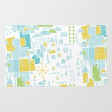 ABSTRACT LANDSCAPE Rug